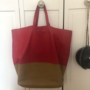 Celine soft lamb leather tote